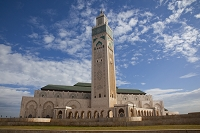 モロッコ カサブランカ ハッサン2世モスク