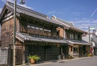 茨城県 真壁の町並み