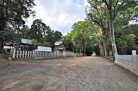 滋賀県 近江八幡市 賀茂神社 足伏走馬をする馬場