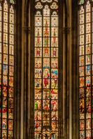 チェコ プラハ ヴィート大聖堂 ステンドグラス