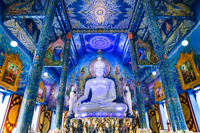 タイ チェンライ ワット・ロンスアテン(青碧寺院)