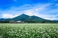 福島県 磐梯山と磐越西線