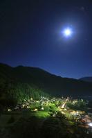 岐阜県 夜の白川郷