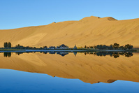 中国  内モンゴル  バダインジャラン砂漠