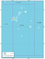 ニウエ 地勢図