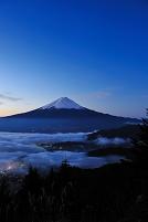山梨県 河口湖町 富士山