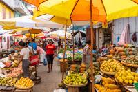 マダガスカル アンタナナリボの市場