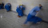 避難訓練 テヘラン