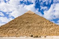 エジプト ギザ カフラー王のピラミッド