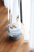 窓辺の洗濯物