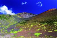 静岡県 富士山と宝永第二火口