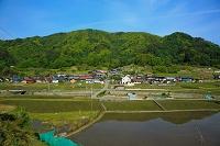長野県 集落と田
