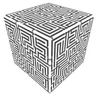 迷路のブロック