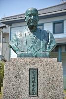 岡山県 津山洋学資料館 宇田川榕菴の胸像