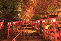 京都府 紅葉の貴船神社