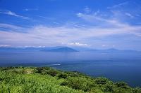 香川県 大串自然公園より瀬戸内海と小豆島