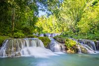 フィリピン カンブガハイの滝