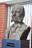 千葉県 リチャード・ヘンリー・ブラントンの胸像