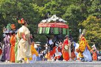 京都府 時代祭 室町洛中風俗列の風流踊り