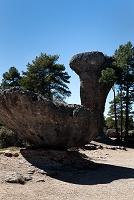 スペイン シウダ・エンカンターダ  ウシダ・エンカンターダの奇岩