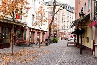 ドイツ ザクセンハウゼンの街並み