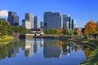 東京都 桜田門と丸の内ビル群