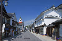 広島県 府中市 白壁の街並み