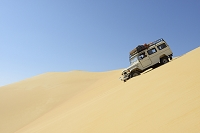 エジプト リビア砂漠