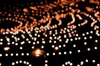 大山棚田の夜祭り