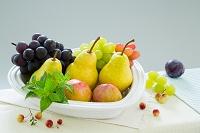果物とクランベリー