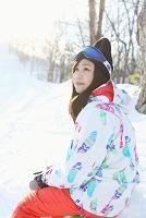 日本人女性スキー