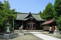 福井県 総社大神宮 拝殿