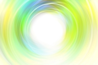 円形の光 CG