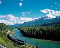 カナダ バンフ国立公園とカナダ太平洋鉄道