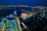神奈川県 横浜 夜景 みなとみらい