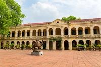 ベトナム タンロン遺跡展示室