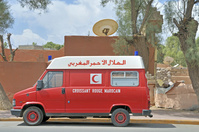 アフリカ 救急車