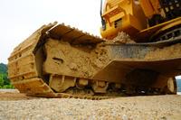 奈良県 道路工事の建設重機