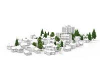 3DCGの住宅