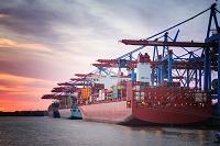 ドイツ ハンブルクの港