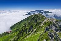 長野県 宝剣岳山頂より空木岳