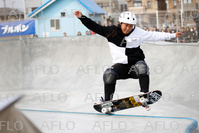 スケートボード:日本オープン JSFパークスタイルコンテスト