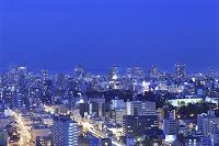 通天閣からの大阪市街の夜景