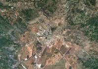 衛星写真 モンテネグロ