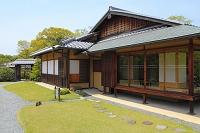 兵庫県 好古園 茶の庭の双樹庵
