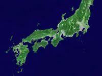 西日本エリア衛星画像