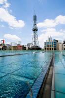愛知県 オアシス21屋上よりテレビ塔