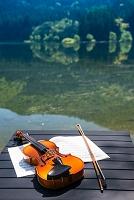 湖畔のバイオリン