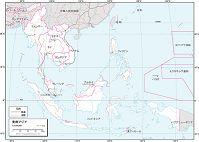 東南アジア 交通図