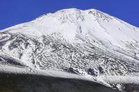 静岡県 御殿場口五合目より宝永火口と富士山